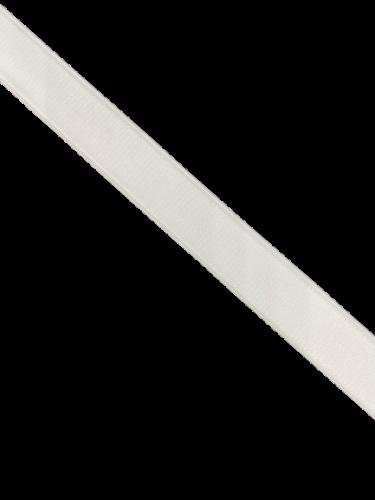 0001ASM Бельевая резинка 20мм цв.белый(в рул.100м)