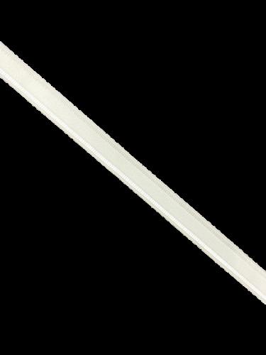 0101ASP Бельевая резинка 12мм цв.белый(в рул.100м)