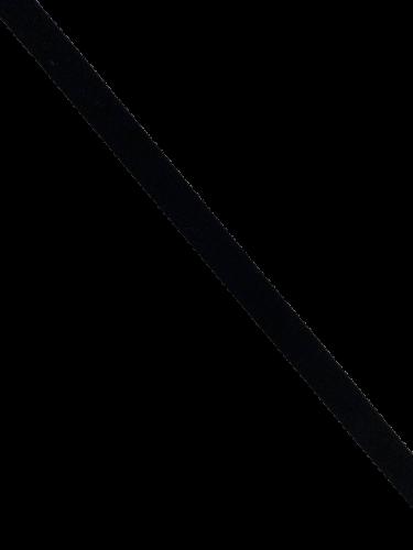 0301KPS Бельевая резинка 11мм цв.черный(в рул.100м)