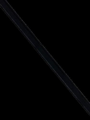 0101ASP Бельевая резинка 12мм цв.черный(в рул.100м)