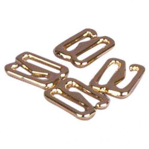 Бельевой крючок металлический 10мм цв.золото(в упак.1000шт)