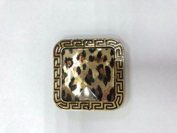 K01 Стразы декоративные пришивные Gold L-1(в упак.50шт)