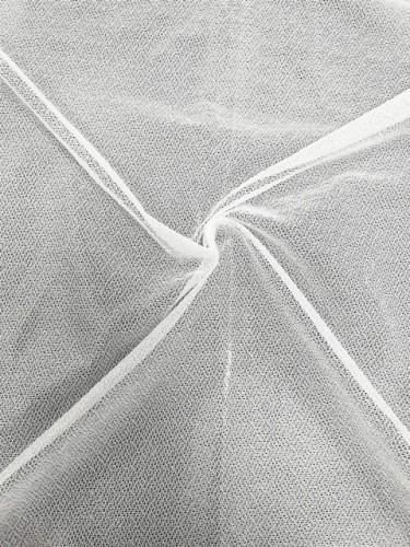 J060/23 Дублерин трикотажный 55г/м точечный 150см цв.белый(в рул.100м)