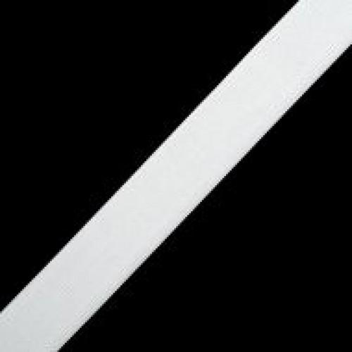 Резинка вязаная стандартная 035мм цв.белый(в рул.40м)