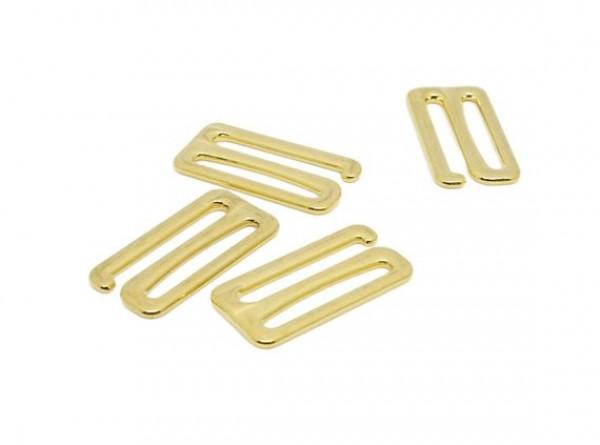 Бельевой крючок металлический 18мм цв.золото(в упак.1000шт)