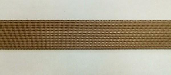 296 Окантовочная лента 18мм цв.св.коричневый(в рул.100м)