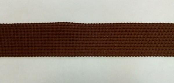 299 Окантовочная лента 18мм цв.коричневый(в рул.100м)