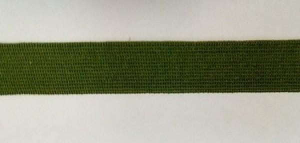 264 Окантовочная лента 20мм цв.хаки(в рул.100м)