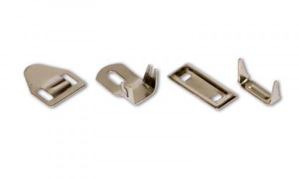 Брючные крючки нержавеющие на 4 шипа(в упак.1000шт)