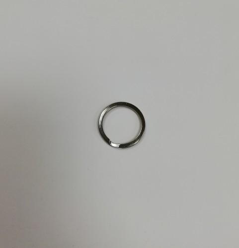 Кольцо для ключей 23мм цв.никель