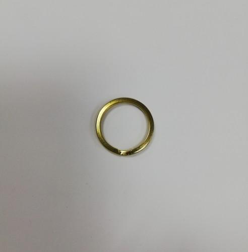Кольцо для ключей 23мм цв.золото