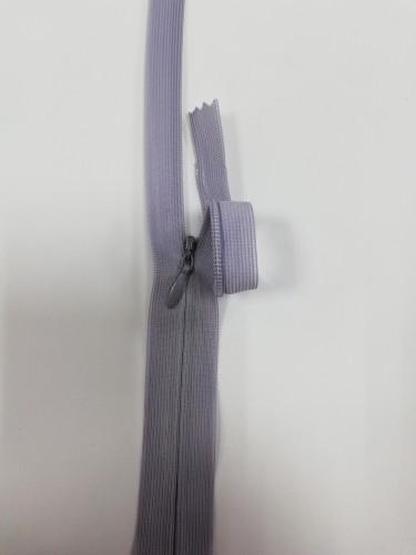 272С Молния потайная Т3 20см цв.серый(в упак.100шт) Китай