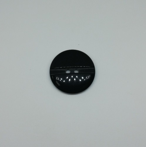 1308 Пуговица №44 28мм цв.черный(в упак.250шт,в кор.№528)
