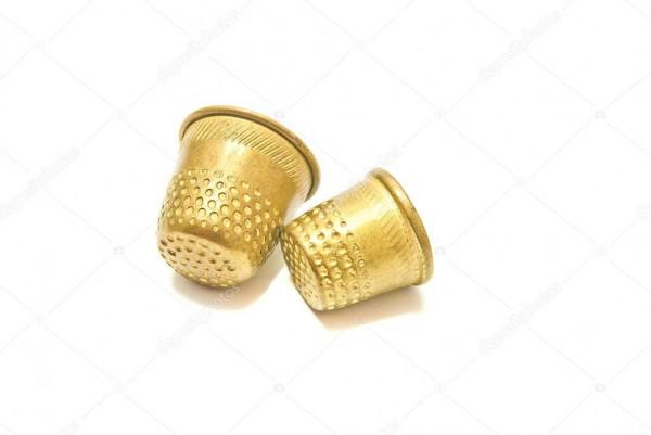 Наперсток металлический 8001 10мм цв.золотой(в упак.100шт)