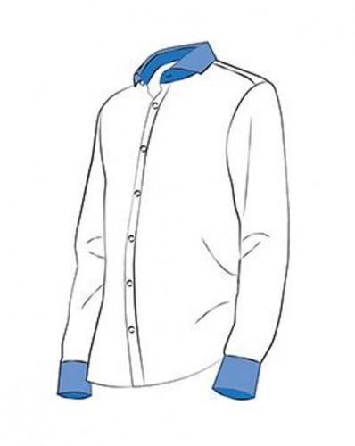 N137 Дублерин сорочечный хлопковый 137г/м сплошной 90см цв.белый(в рул.50м)