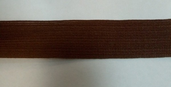 299 Окантовочная лента 20мм цв.коричневый(в рул.100м)