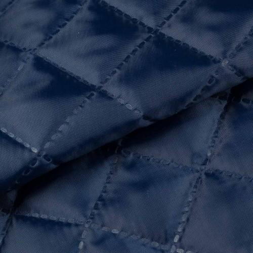 Стеганый шерстипон 200г/м подклад 190Т 150см цв.т.синий(в рул.50м)