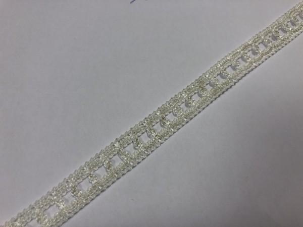 1- 31 Кружево вязаное полиэстер цв.белый(в рул.50м)