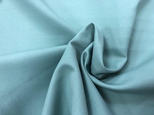 118-4364 Ткань хлопок сатин однотонный 80%хлопок 20%полиэстер 150см цв.мята(в рул.92,3м)