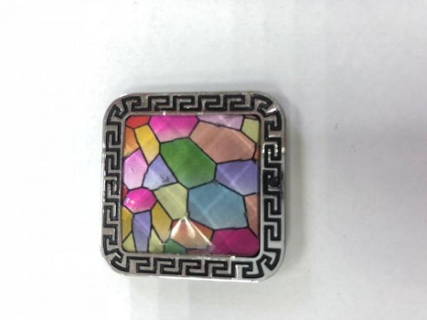 K01 Стразы декоративные пришивные Silver L-4(в упак.50шт)