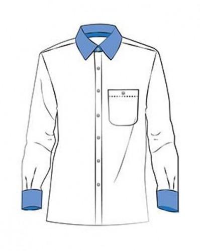 N136 Дублерин сорочечный хлопковый 137г/м сплошной 90см цв.белый(в рул.125м)