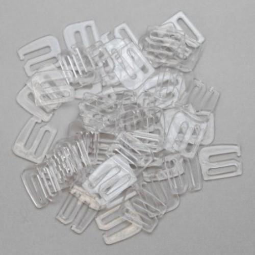 Бельевой крючок пластиковый 0,8мм цв.прозрачный(в упак.2000шт)