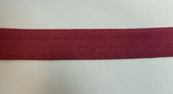 178 Окантовочная лента 20мм цв.бордовый(в рул.100м)