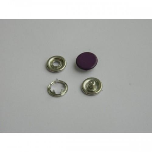 170 Кнопка нержавеющая трикотажная закрытая 09,5мм цв.фиолетовый(в упак.1440шт)
