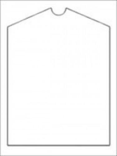 Пакет упаковочный со скосом 30мкм 60*135см(в упак.100шт)