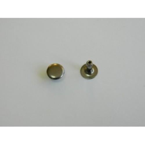 Хольнитен стальной 6*6мм цв.ч.никель(в упак.2000шт)