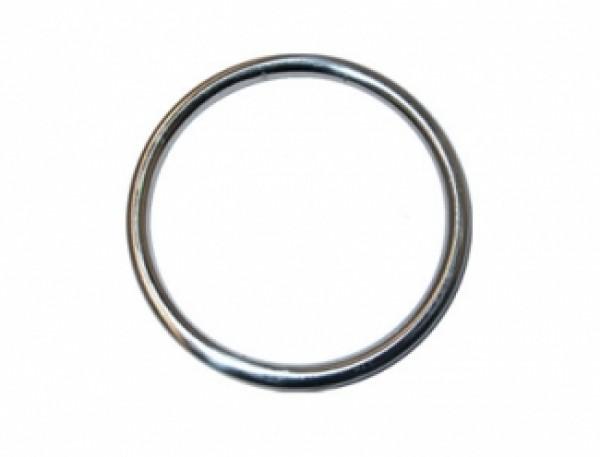165 Кольцо 4*50мм цв.никель