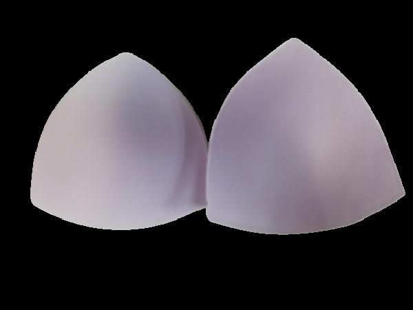163 Чашки корсетные Р1 цв.белый треугольник(в упак.30пар)