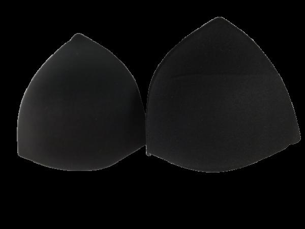 163 Чашки корсетные Р1 цв.черный треугольник(в упак.30пар)