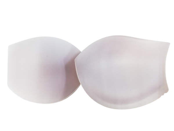 177А Чашки корсетные Р80 цв.белый(в упак.30пар)