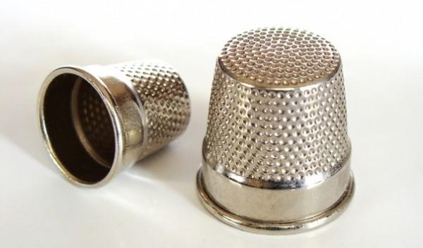 Наперсток металлический 8002 10мм цв.никель(в упак.100шт)