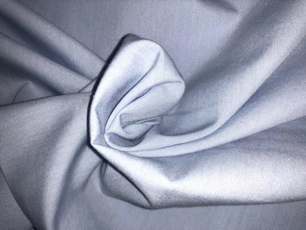 06-11358 Ткань хлопок дакрон однотонный 60%хлопок 40%полиэстер 150см цв.голубой(в рул.100м)