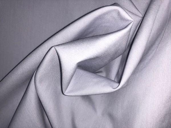 116-4290 Ткань хлопок сатин однотонный 80%хлопок 20%полиэстер 150см цв.св.серый(в рул.100м)
