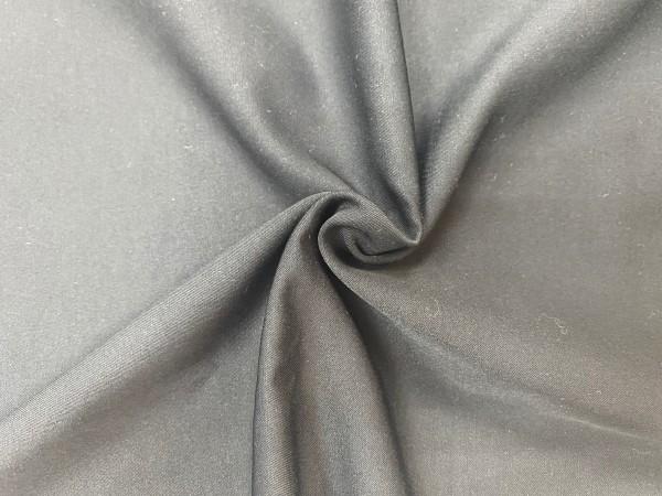 117-6175 Ткань хлопок сатин однотонный 80%хлопок 20%полиэстер 150см цв.черный(в рул.105м)