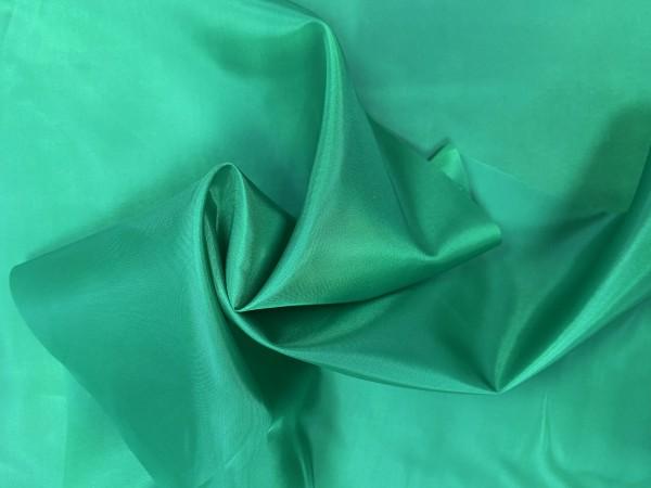1217(17-6030) Ткань подкладочная однотонная 210Т 100%ПЭ 150см цв.зеленый(в рул.100м)