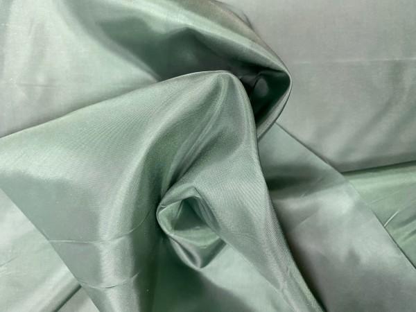 1229(19-5914) Ткань подкладочная однотонная 210Т 100%ПЭ 150см цв.т.зеленый(в рул.100м)