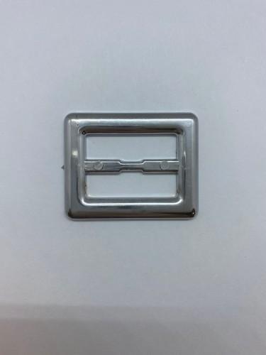 125ТКА Пряжка металлическая 3см цв.никель(в упак.500шт)