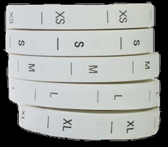 XS Размерник бумажный(в рул.500шт)