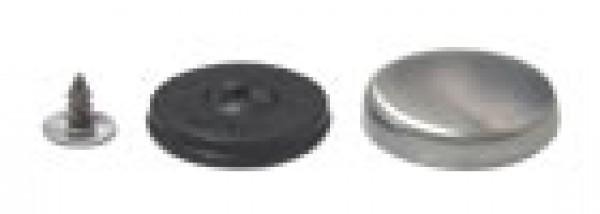 Заготовка для обтяжки пуговиц на гвоздике №28 18мм(в упак.500шт)