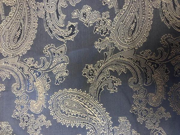 C1 Ткань подкладочная жаккардовя огурчики 210Т 150см цв.серый(в рул.100м)