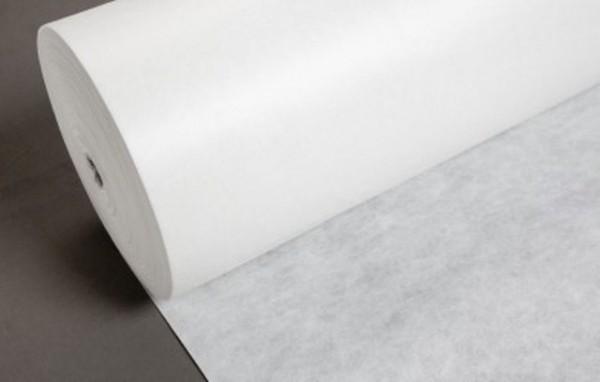 505 Флизелин вышивальный с пропиткой 40г/м 90см цв.белый(в рул.300м)