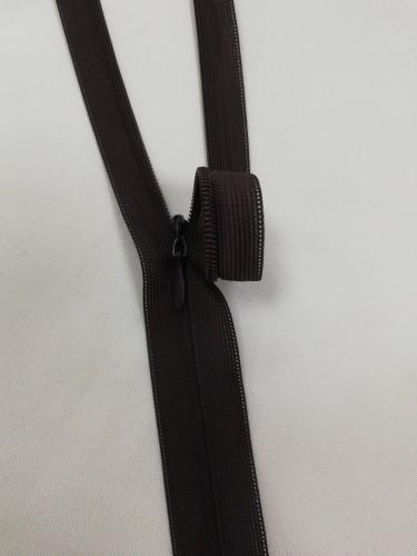 304 Молния потайная Т3 50см цв.коричневый(в упак.100шт)