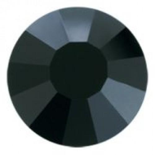 Стразы SS10 3мм Е18 Jet Black(в упак.500гросс)