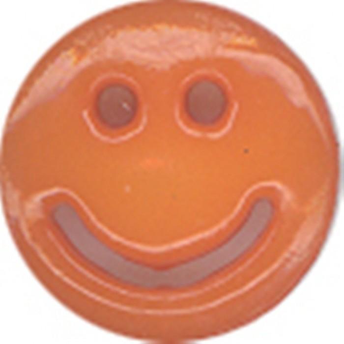 №4 Пуговица детская (улыбочка) №26 16мм цв.фуксия 003(в упак.100шт)
