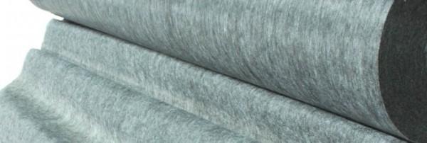 1065 Флизелин точечный 65г/м 90см цв.серый(в рул.100м)