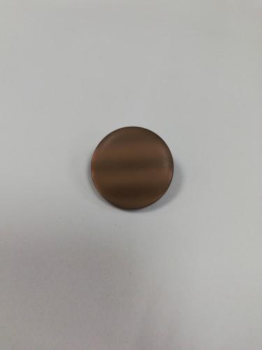0400 Пуговица на ножке №40 25мм цв.коричневый(в упак.250шт)